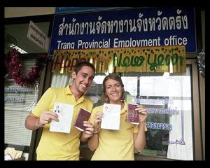 thailand visa and work permit